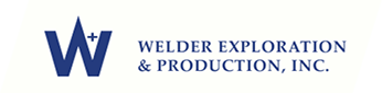 WELDER EXPLORATION & PRODUCTION, INC.